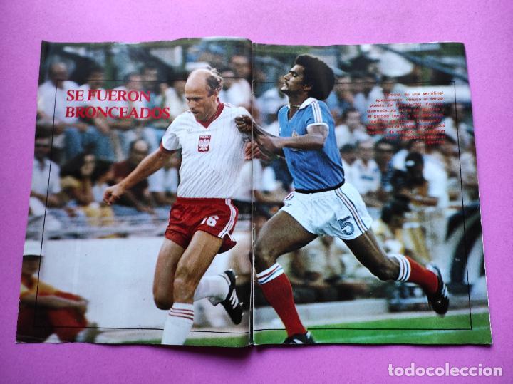 Coleccionismo deportivo: REVISTA DON BALON Nº 354 ITALIA CAMPEON MUNDIAL ESPAÑA 82 ESPECIAL RESUMEN WORLD CUP WC 1982 POSTER - Foto 2 - 257379570