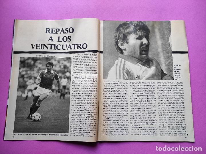Coleccionismo deportivo: REVISTA DON BALON Nº 354 ITALIA CAMPEON MUNDIAL ESPAÑA 82 ESPECIAL RESUMEN WORLD CUP WC 1982 POSTER - Foto 3 - 257379570