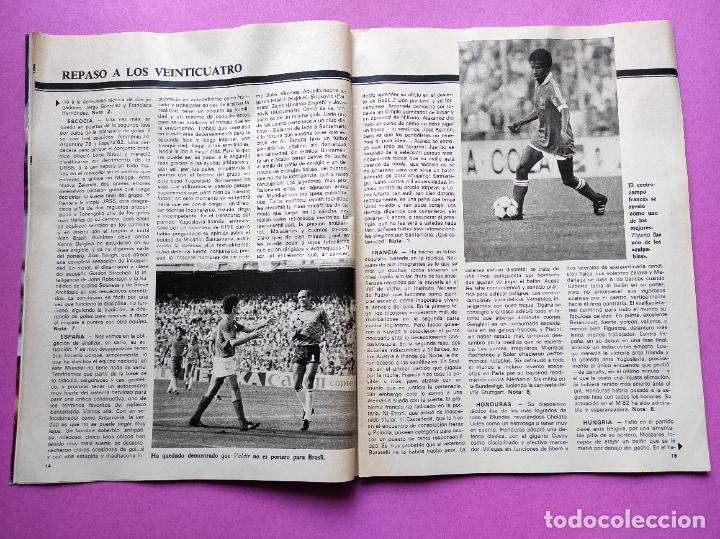 Coleccionismo deportivo: REVISTA DON BALON Nº 354 ITALIA CAMPEON MUNDIAL ESPAÑA 82 ESPECIAL RESUMEN WORLD CUP WC 1982 POSTER - Foto 4 - 257379570
