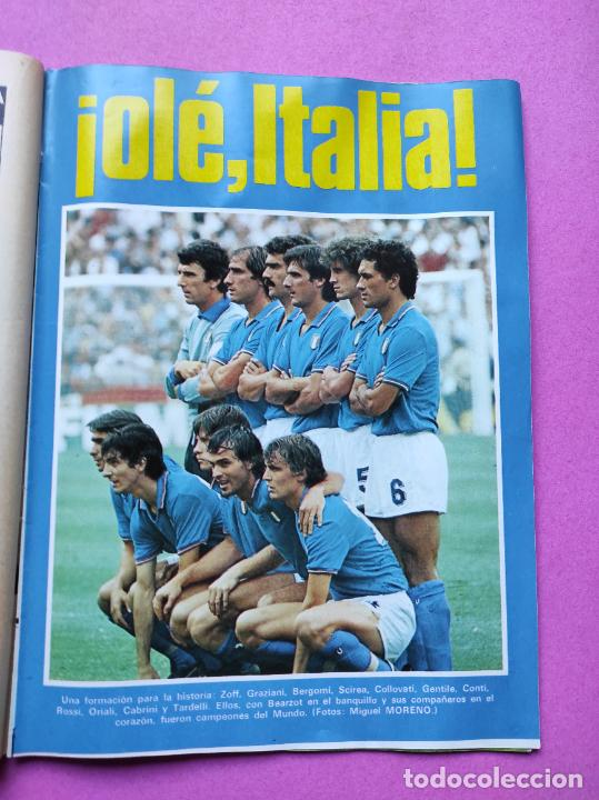 Coleccionismo deportivo: REVISTA DON BALON Nº 354 ITALIA CAMPEON MUNDIAL ESPAÑA 82 ESPECIAL RESUMEN WORLD CUP WC 1982 POSTER - Foto 5 - 257379570
