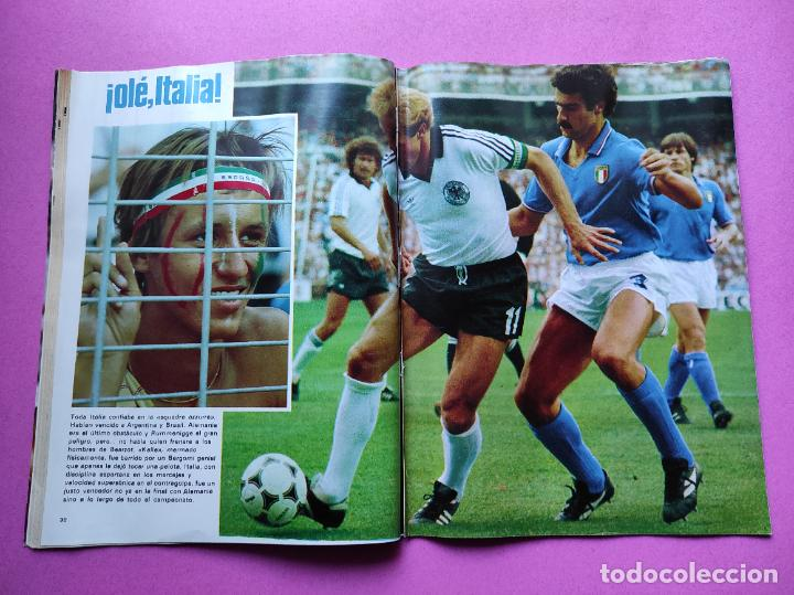 Coleccionismo deportivo: REVISTA DON BALON Nº 354 ITALIA CAMPEON MUNDIAL ESPAÑA 82 ESPECIAL RESUMEN WORLD CUP WC 1982 POSTER - Foto 6 - 257379570