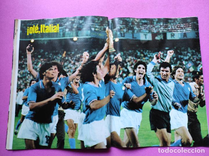 Coleccionismo deportivo: REVISTA DON BALON Nº 354 ITALIA CAMPEON MUNDIAL ESPAÑA 82 ESPECIAL RESUMEN WORLD CUP WC 1982 POSTER - Foto 7 - 257379570