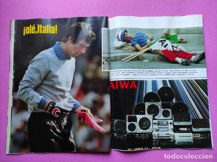 Coleccionismo deportivo: REVISTA DON BALON Nº 354 ITALIA CAMPEON MUNDIAL ESPAÑA 82 ESPECIAL RESUMEN WORLD CUP WC 1982 POSTER - Foto 8 - 257379570