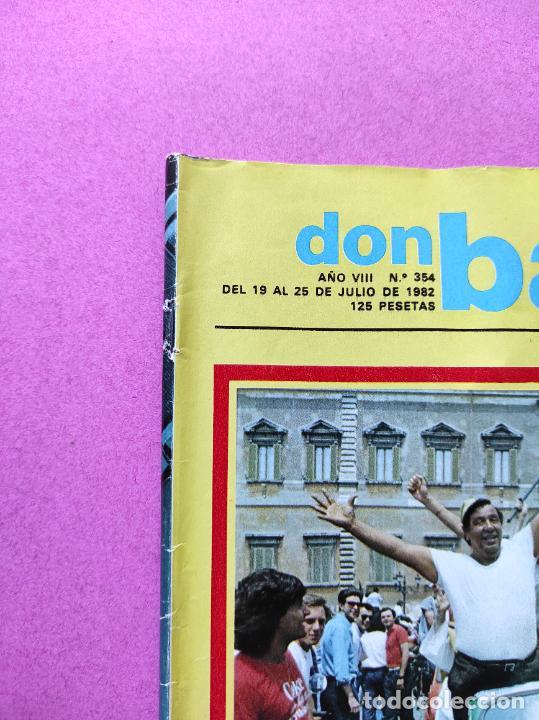 Coleccionismo deportivo: REVISTA DON BALON Nº 354 ITALIA CAMPEON MUNDIAL ESPAÑA 82 ESPECIAL RESUMEN WORLD CUP WC 1982 POSTER - Foto 11 - 257379570