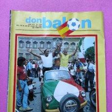 Coleccionismo deportivo: REVISTA DON BALON Nº 354 ITALIA CAMPEON MUNDIAL ESPAÑA 82 ESPECIAL RESUMEN WORLD CUP WC 1982 POSTER. Lote 257379570