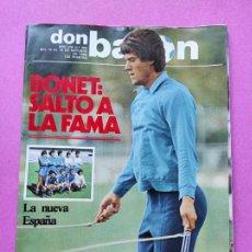 Coleccionismo deportivo: REVISTA DON BALON Nº 366 1982 POSTER SELECCION ESPAÑOLA - ARCONADA ESPAÑA MIGUEL MUÑOZ - BONET. Lote 257379695