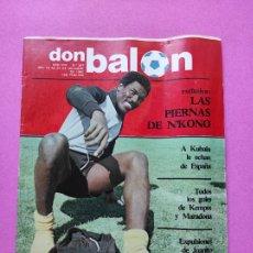 Coleccionismo deportivo: REVISTA DON BALON Nº 367 1982 N'KONO RCD ESPAÑOL - KEMPES MARADONA - JUANITO. Lote 257379800