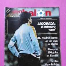 Coleccionismo deportivo: REVISTA DON BALON Nº 373 POSTER CROMOS VALENCIA CF 82/83 1982/1983 - ARCONADA NUMERO 1 - KEMPES. Lote 257380675