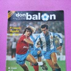 Coleccionismo deportivo: REVISTA DON BALON Nº 374 POSTER CROMOS ATHLETIC CLUB BILBAO 82/83 1982/1983 - GUERRI. Lote 257380820