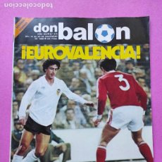 Coleccionismo deportivo: REVISTA DON BALON Nº 375 POSTER CROMOS REAL BETIS BALOMPIE 82/83 1982/1983 - VALENCIA COPA UEFA. Lote 257381040
