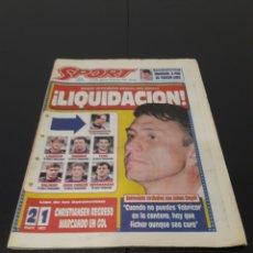 Coleccionismo deportivo: SPORT N° 5220. 22 DE MAYO 1994.. Lote 257397335