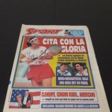 Coleccionismo deportivo: SPORT N° 5234. 5 DE JUNIO 1994.. Lote 257398660