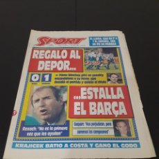 Coleccionismo deportivo: SPORT N° 5179. 11 DE ABRIL 1994.. Lote 257401320