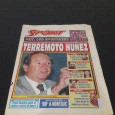 Coleccionismo deportivo: SPORT N° 5573. 13 DE MAYO 1995.. Lote 257410850