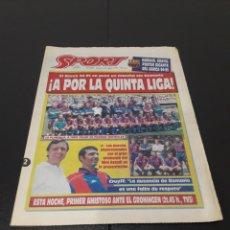 Coleccionismo deportivo: SPORT N° 5292. 2 DE AGOSTO 1994.. Lote 257413265