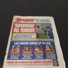 Coleccionismo deportivo: SPORT N° 4887. 19 DE JUNIO 1993.. Lote 257416785