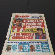 Coleccionismo deportivo: SPORT N° 4950. 21 DE AGOSTO 1993.. Lote 257418615