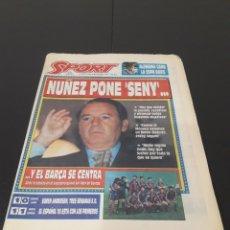 Coleccionismo deportivo: SPORT N° 5057. 6 DE DICIEMBRE 1993.. Lote 257420280