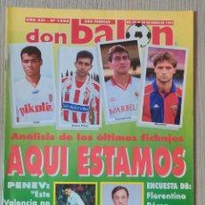 Coleccionismo deportivo: DON BALÓN Nº 1006 - AÑO 1995. POSTER CELTA DE VIGO. Lote 257434275