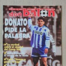 Coleccionismo deportivo: DON BALÓN Nº 1007 - AÑO 1995. POSTER SPORTING GIJON. Lote 257435310