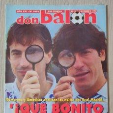 Coleccionismo deportivo: DON BALÓN Nº 1009 - AÑO 1995. POSTER SEVILLA. Lote 257435960