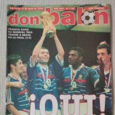 Coleccionismo deportivo: DON BALÓN Nº 1187 - AÑO 1998. POSTER OWEN. Lote 257438335