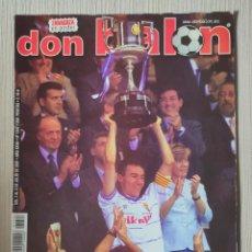 Coleccionismo deportivo: DON BALÓN Nº 1342 - AÑO 2001. POSTER ZARAGOZA CAMPEÓN COPA DEL REY. Lote 257620235