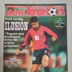 Coleccionismo deportivo: DON BALÓN Nº 1181 - AÑO 1998. POSTER SELECCIÓN ESPAÑOLA. Lote 257622175