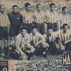 Coleccionismo deportivo: MARCA Nº 77 MADRID 1944 EL ATLETICO AVIACIÓN VENCE AL CELTA 4-0 Y EL ESPAÑOL VENCE R. SOCIEDAD. Lote 257678480