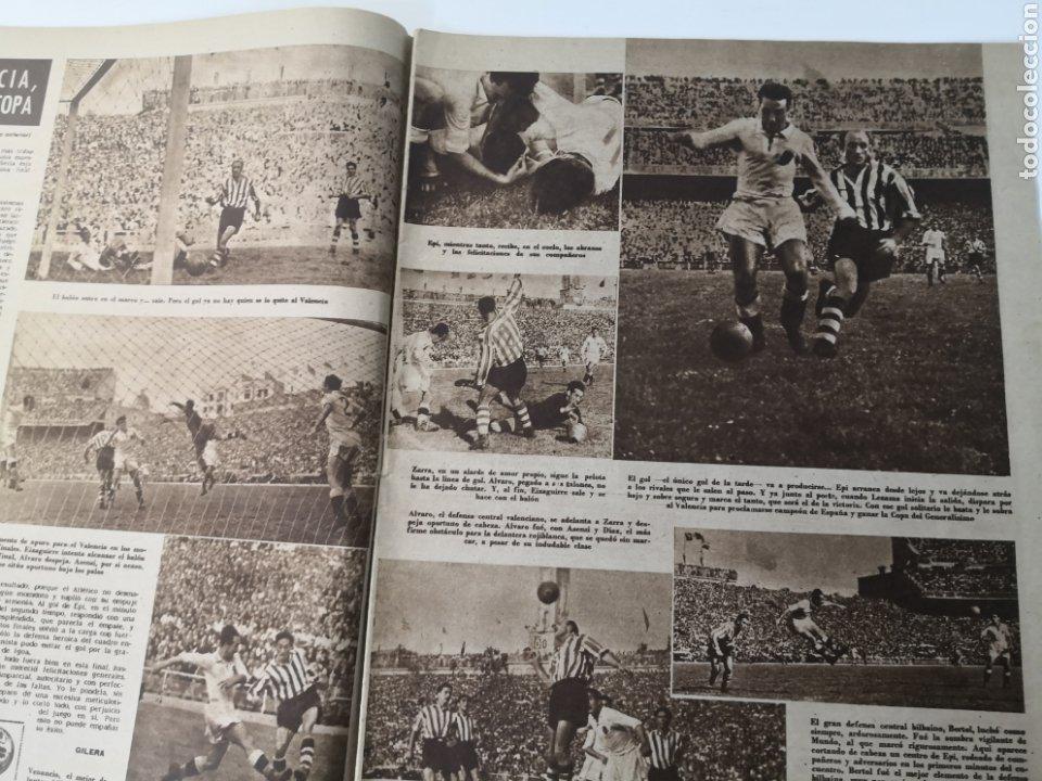 Coleccionismo deportivo: 1949 - DIARIO MARCA, SEMANARIO GRÁFICO DEPORTES N° 339. VALENCIA CAMPEÓN DE COPA - Foto 5 - 257780975