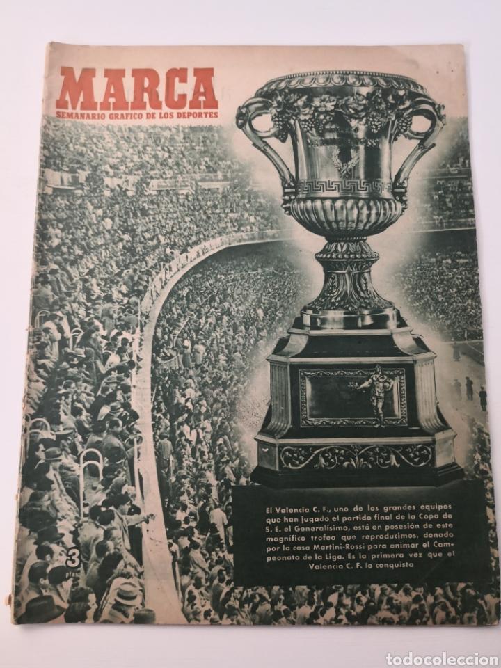 1949 - DIARIO MARCA, SEMANARIO GRÁFICO DEPORTES N° 339. VALENCIA CAMPEÓN DE COPA (Coleccionismo Deportivo - Revistas y Periódicos - Marca)