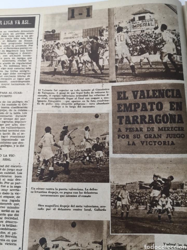 Coleccionismo deportivo: 1949 - DIARIO MARCA, SEMANARIO GRÁFICO DEPORTES N°357. EXHIBICIÓN REAL MADRID. RAYO VALLECANO. CELTA - Foto 8 - 257782645