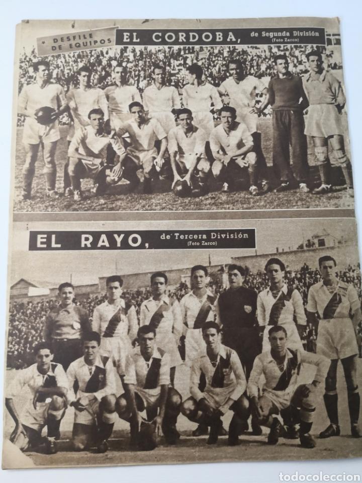 Coleccionismo deportivo: 1949 - DIARIO MARCA, SEMANARIO GRÁFICO DEPORTES N°357. EXHIBICIÓN REAL MADRID. RAYO VALLECANO. CELTA - Foto 13 - 257782645