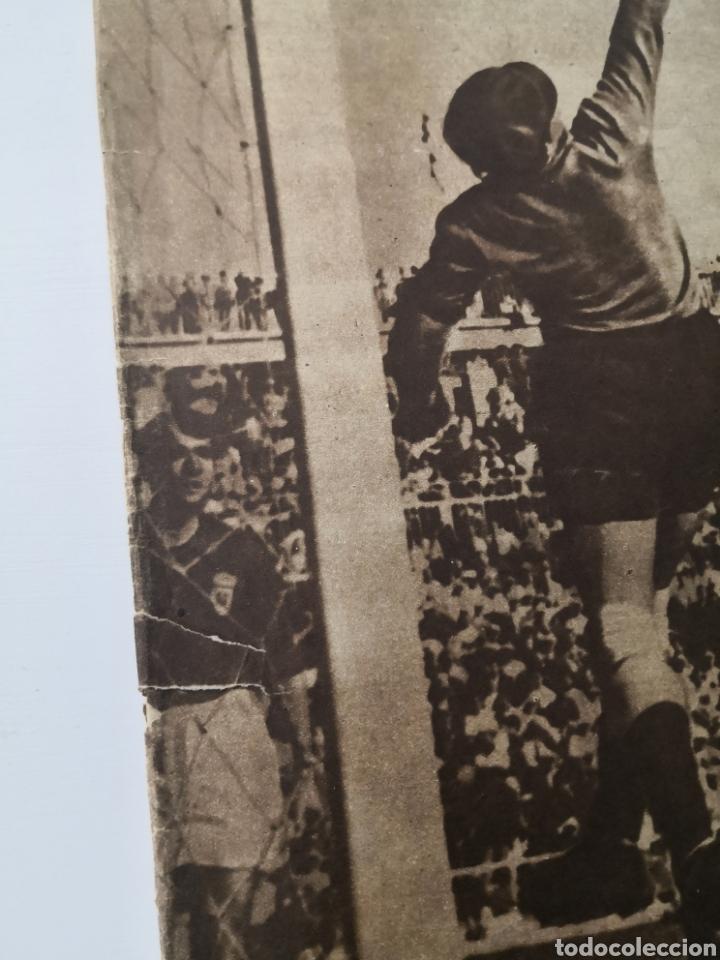 Coleccionismo deportivo: 1949 - DIARIO MARCA, SEMANARIO GRÁFICO DEPORTES N°357. EXHIBICIÓN REAL MADRID. RAYO VALLECANO. CELTA - Foto 14 - 257782645