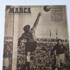 Coleccionismo deportivo: 1949 - DIARIO MARCA, SEMANARIO GRÁFICO DEPORTES N°357. EXHIBICIÓN REAL MADRID. RAYO VALLECANO. CELTA. Lote 257782645