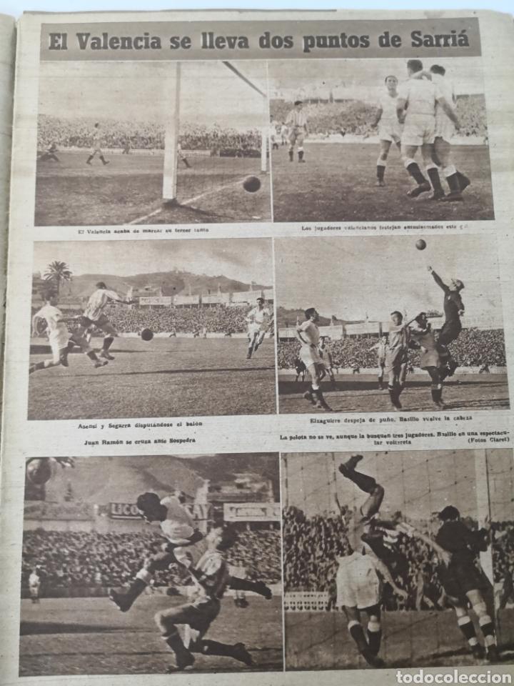 Coleccionismo deportivo: 1947 - DIARIO MARCA, SEMANARIO GRÁFICO DEPORTES N° 256. ATLÉTICO DE MADRID. ZARRA - Foto 4 - 257784050
