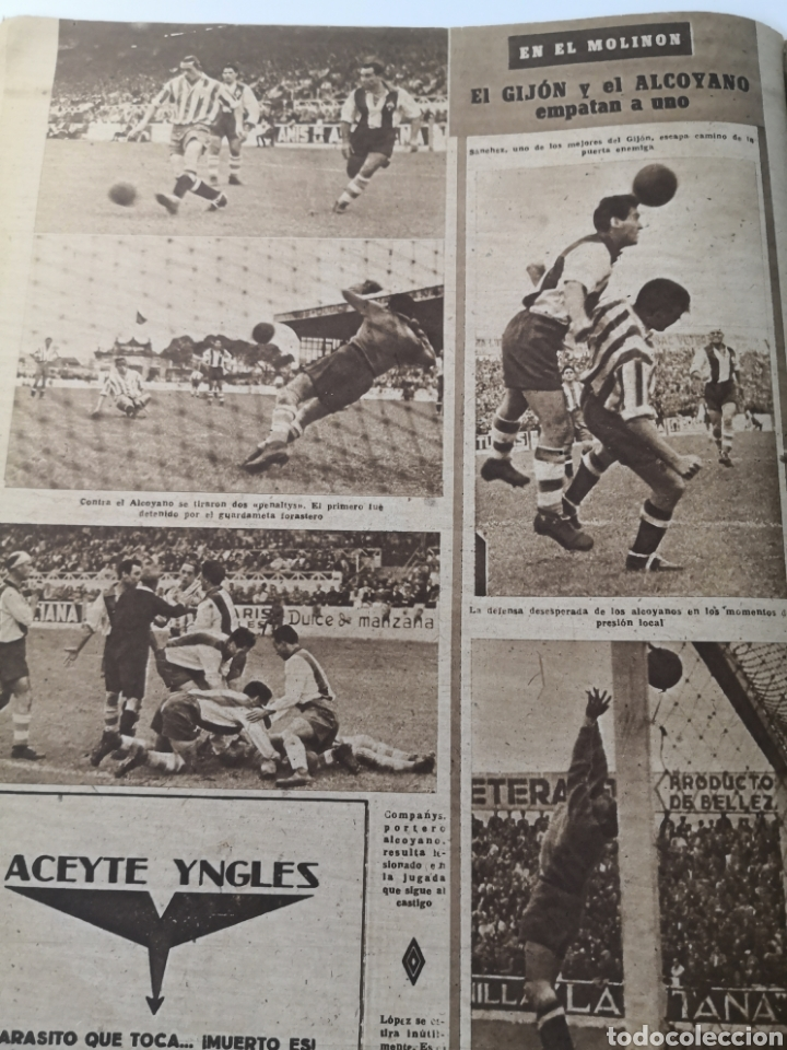 Coleccionismo deportivo: 1947 - DIARIO MARCA, SEMANARIO GRÁFICO DEPORTES N° 256. ATLÉTICO DE MADRID. ZARRA - Foto 5 - 257784050