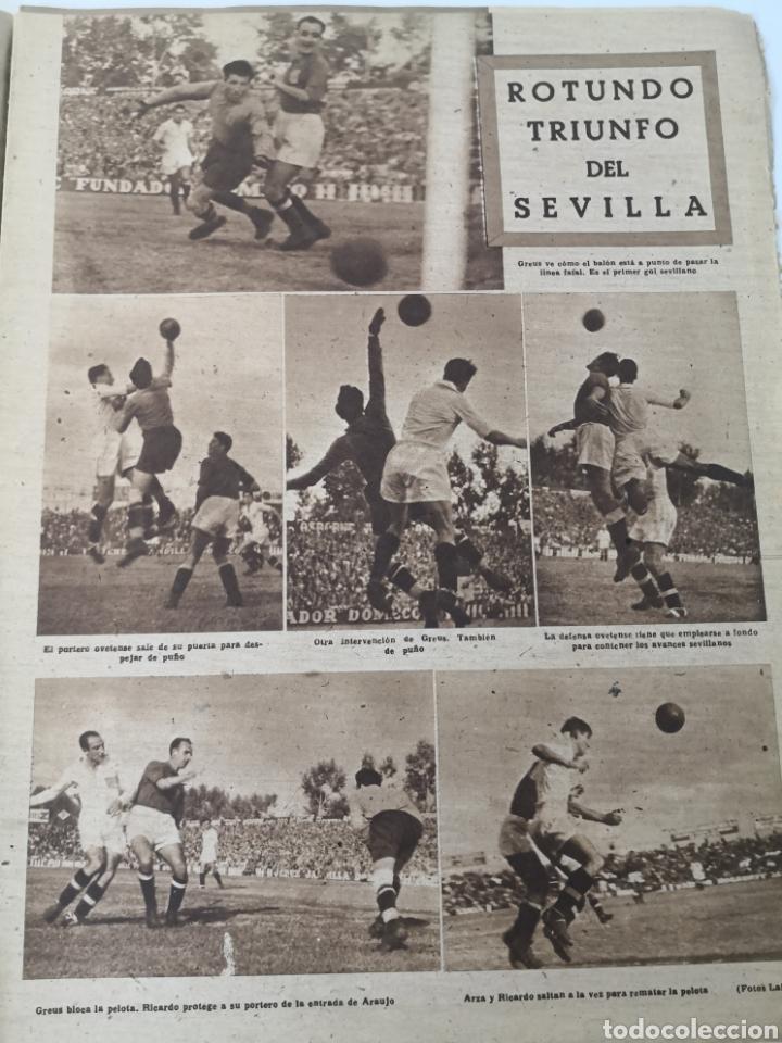Coleccionismo deportivo: 1947 - DIARIO MARCA, SEMANARIO GRÁFICO DEPORTES N° 256. ATLÉTICO DE MADRID. ZARRA - Foto 6 - 257784050