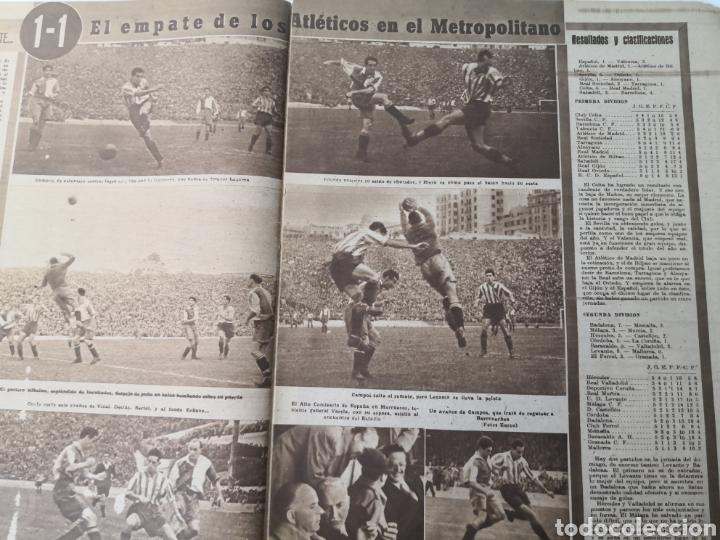 Coleccionismo deportivo: 1947 - DIARIO MARCA, SEMANARIO GRÁFICO DEPORTES N° 256. ATLÉTICO DE MADRID. ZARRA - Foto 7 - 257784050