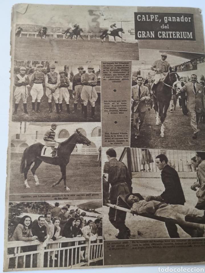 Coleccionismo deportivo: 1947 - DIARIO MARCA, SEMANARIO GRÁFICO DEPORTES N° 256. ATLÉTICO DE MADRID. ZARRA - Foto 9 - 257784050
