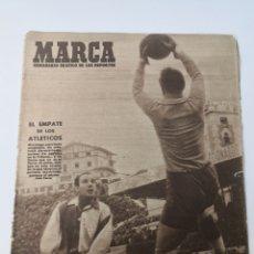 Coleccionismo deportivo: 1947 - DIARIO MARCA, SEMANARIO GRÁFICO DEPORTES N° 256. ATLÉTICO DE MADRID. ZARRA. Lote 257784050