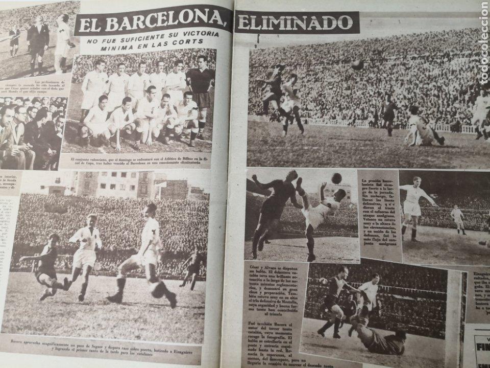 Coleccionismo deportivo: 1949 - DIARIO MARCA, SEMANARIO GRÁFICO DEPORTES N° 338. REAL MADRID. CAMPO TIRO CHAMARTIN. KUTZ - Foto 5 - 257785130