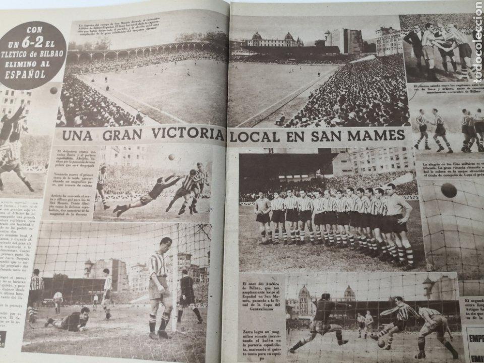 Coleccionismo deportivo: 1949 - DIARIO MARCA, SEMANARIO GRÁFICO DEPORTES N° 338. REAL MADRID. CAMPO TIRO CHAMARTIN. KUTZ - Foto 6 - 257785130