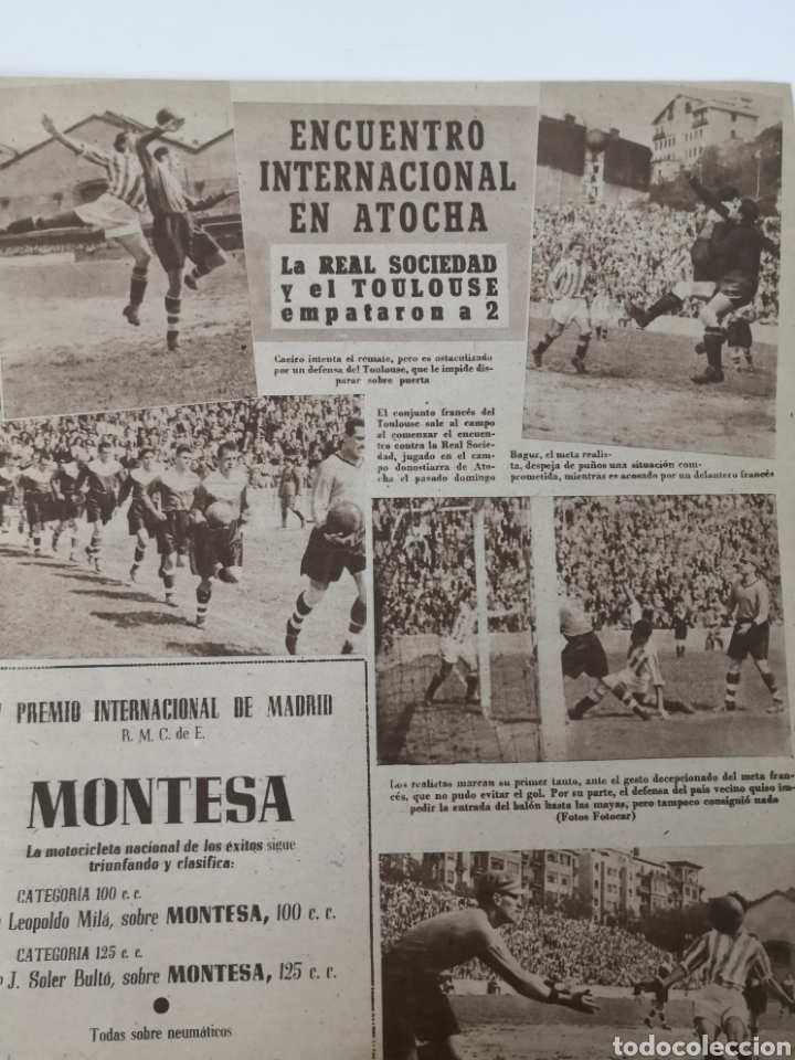 Coleccionismo deportivo: 1949 - DIARIO MARCA, SEMANARIO GRÁFICO DEPORTES N° 338. REAL MADRID. CAMPO TIRO CHAMARTIN. KUTZ - Foto 7 - 257785130