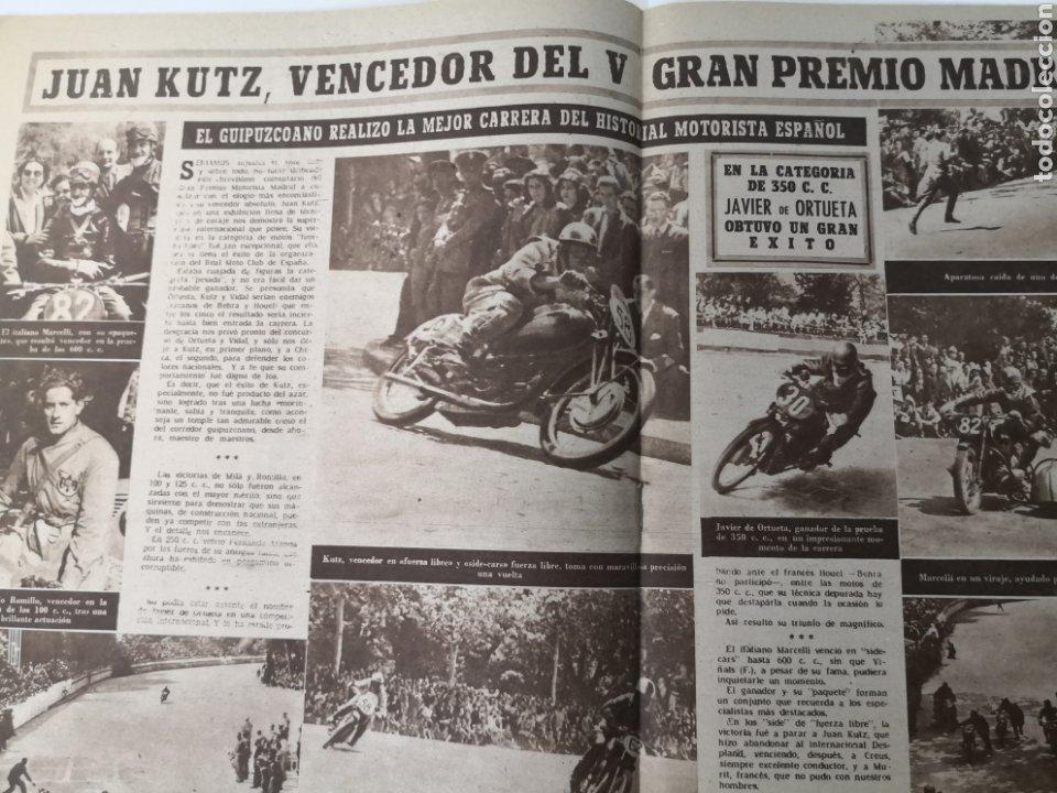 Coleccionismo deportivo: 1949 - DIARIO MARCA, SEMANARIO GRÁFICO DEPORTES N° 338. REAL MADRID. CAMPO TIRO CHAMARTIN. KUTZ - Foto 8 - 257785130