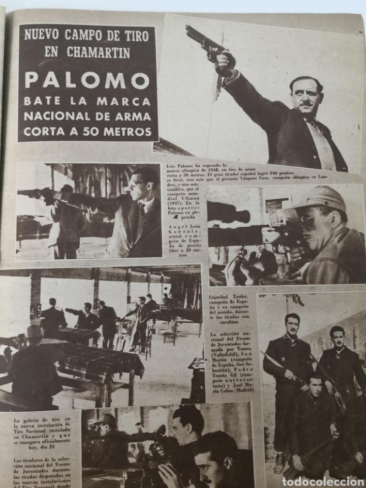 Coleccionismo deportivo: 1949 - DIARIO MARCA, SEMANARIO GRÁFICO DEPORTES N° 338. REAL MADRID. CAMPO TIRO CHAMARTIN. KUTZ - Foto 9 - 257785130