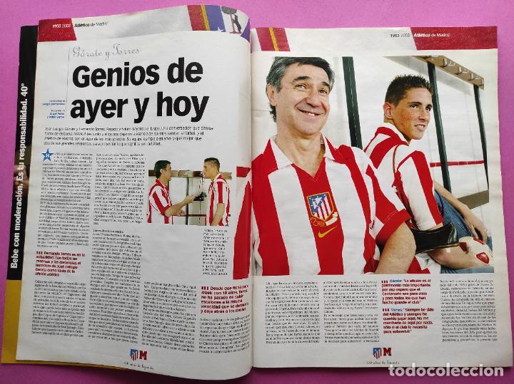 Coleccionismo deportivo: CENTENARIO ATLETICO DE MADRID - CIEN AÑOS DE ATLETI 1903-2003 REVISTA ESPECIAL DIARIO MARCA EXTRA - Foto 2 - 257940510