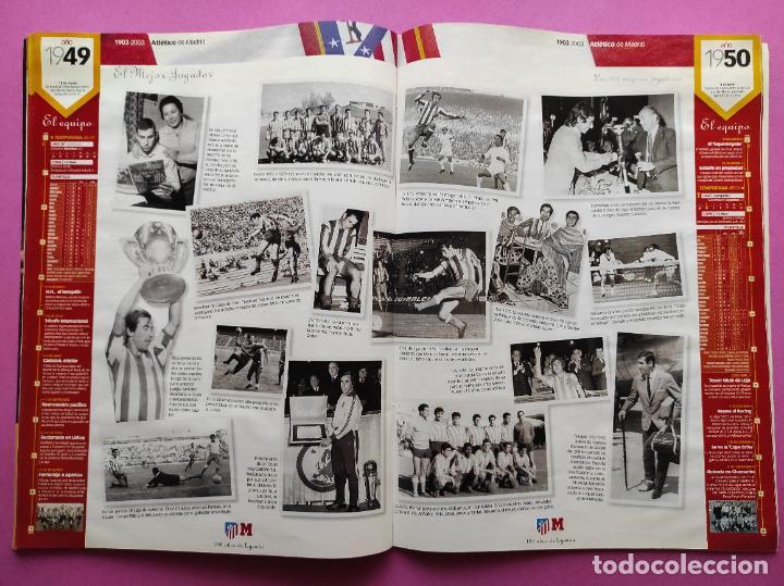 Coleccionismo deportivo: CENTENARIO ATLETICO DE MADRID - CIEN AÑOS DE ATLETI 1903-2003 REVISTA ESPECIAL DIARIO MARCA EXTRA - Foto 3 - 257940510