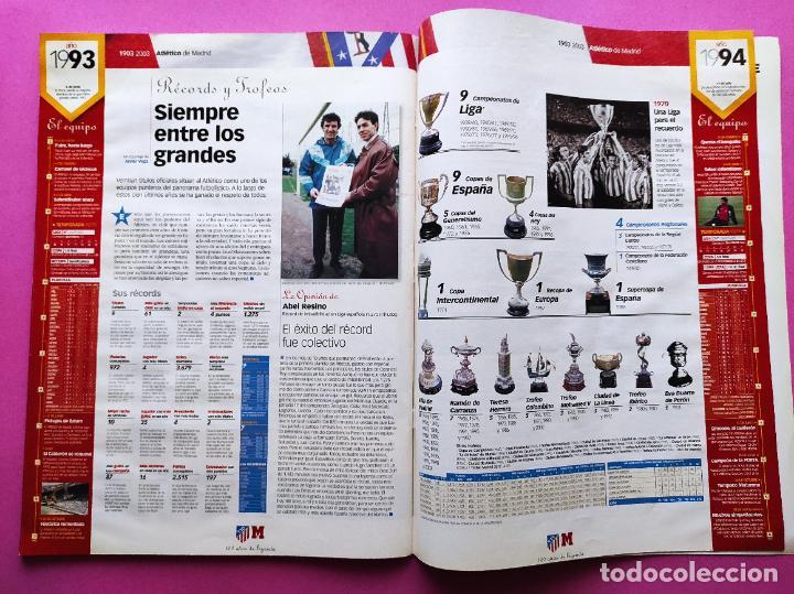 Coleccionismo deportivo: CENTENARIO ATLETICO DE MADRID - CIEN AÑOS DE ATLETI 1903-2003 REVISTA ESPECIAL DIARIO MARCA EXTRA - Foto 5 - 257940510