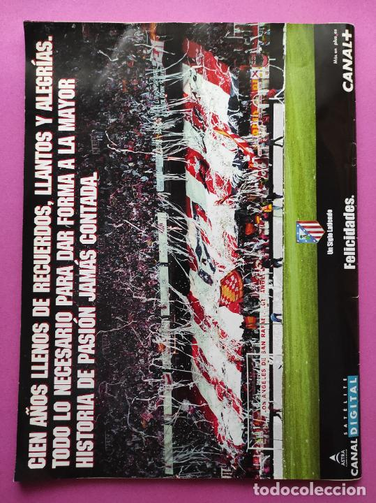 Coleccionismo deportivo: CENTENARIO ATLETICO DE MADRID - CIEN AÑOS DE ATLETI 1903-2003 REVISTA ESPECIAL DIARIO MARCA EXTRA - Foto 7 - 257940510